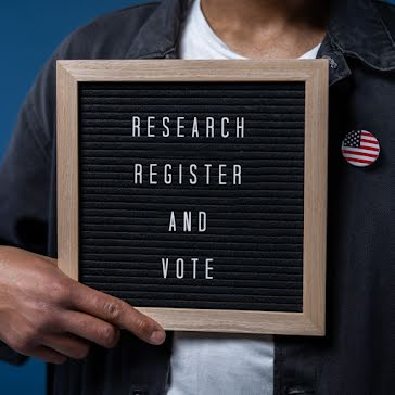 Research Register Vote - Instagram Post Template