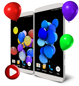 Balloons 3D Live Wallpaper screenshot 0