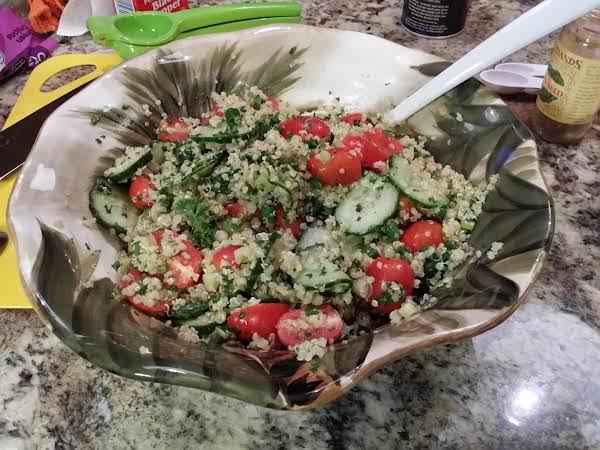 Tabbouleh - Quinoa Recipe