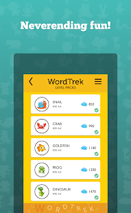 Word Trek - Word Brain streak- screenshot thumbnail