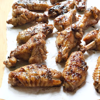 Grilled Chicken Wings with Pomegranate Glaze Recipe