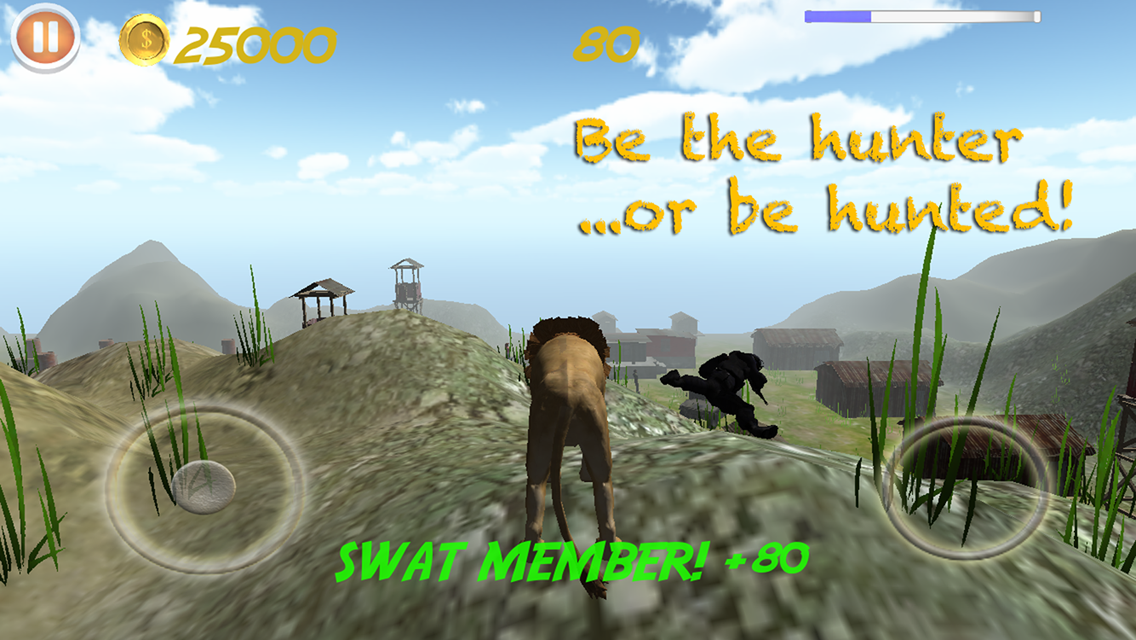 Animal Rampage 3D Simulator- screenshot