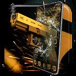 Gold Revolver Gun AK47 SMG Theme Icon