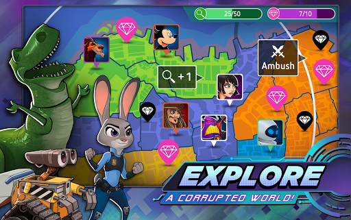 Disney Heroes: Battle Mode filehippodl screenshot 19