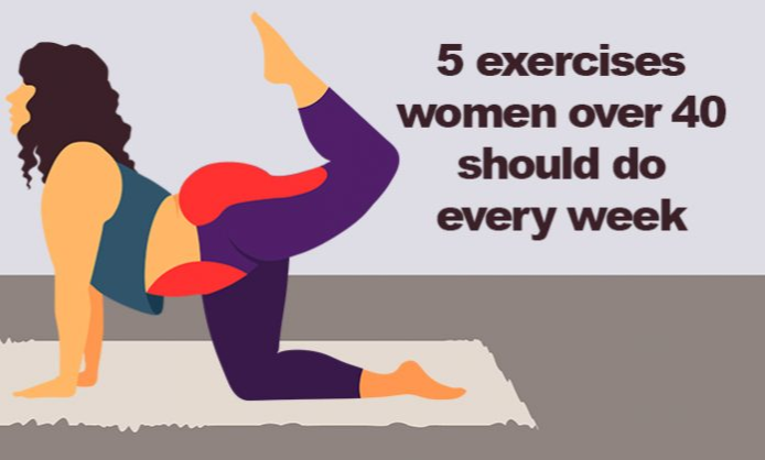 These 5 Exercises Women Over 40 Should Do Every Week