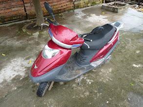 Photo: Ninh Binh - motobiking around NB and my automatic motobike for 7USD (125ccm)