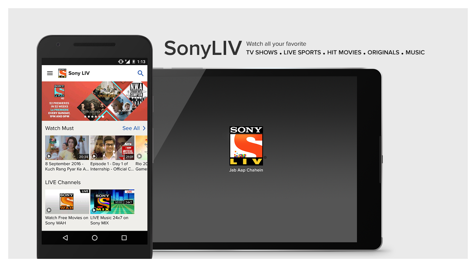 Sony Entertainment Tv Live Streaming Hd