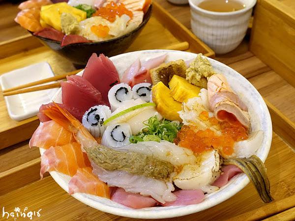 壽司爸*CP值高爆表生魚片海鮮丼 還沒開店就排隊的日本料理小店