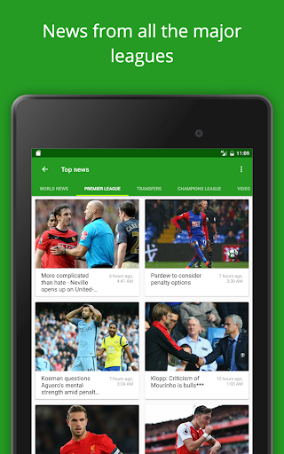 Soccer Scores  – FotMob v58.0.3415.20170608(Unlocked)