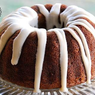 Paleo Pumpkin Bundt Cake with Coconut Cream Glaze Recipe