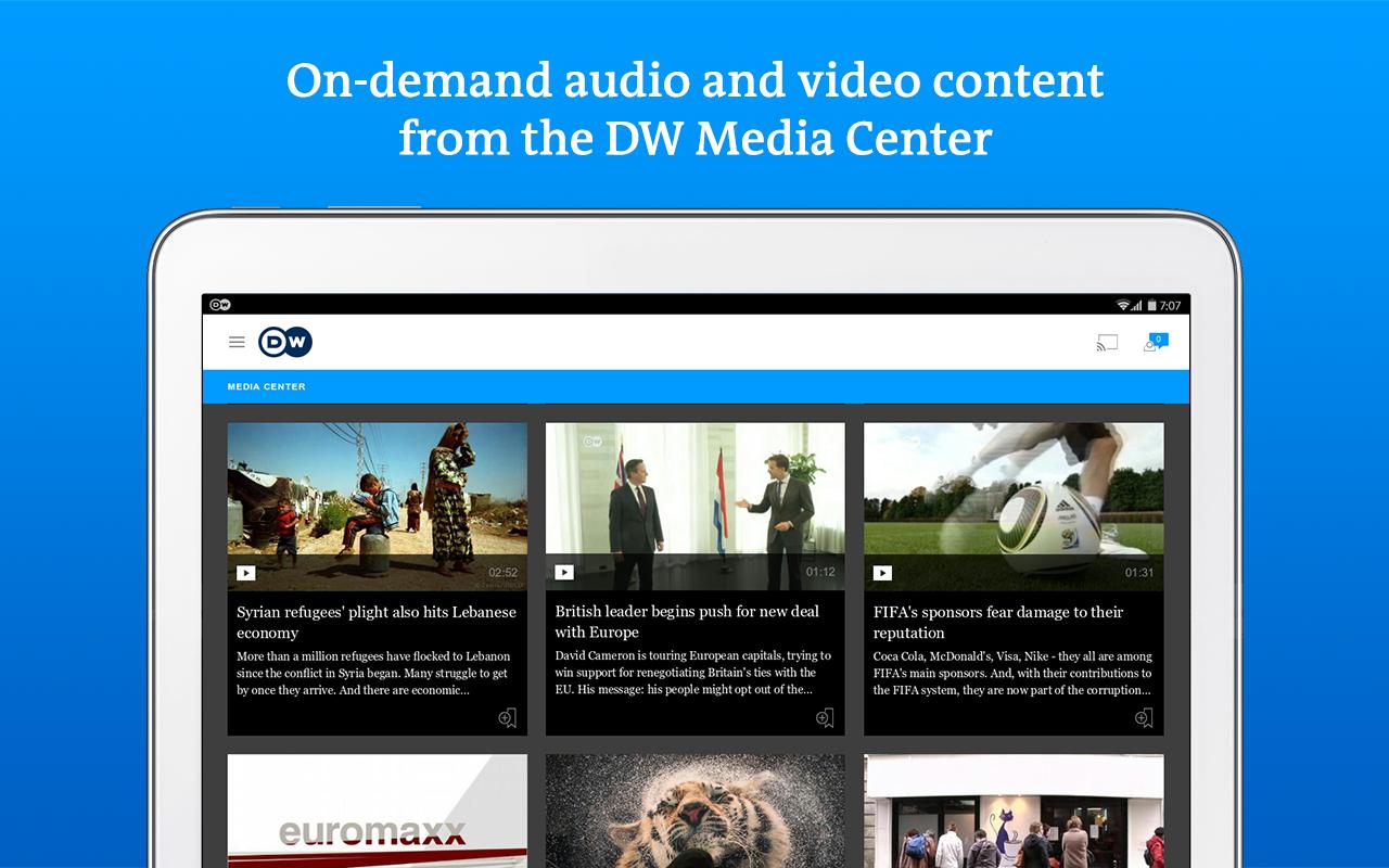 DW - Breaking World News- screenshot