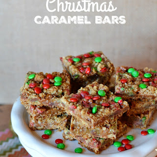 Christmas Caramel Bars