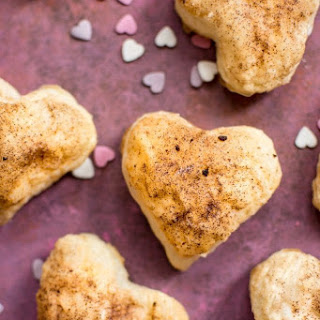 Valentine's Day Puff Pastry Hearts.