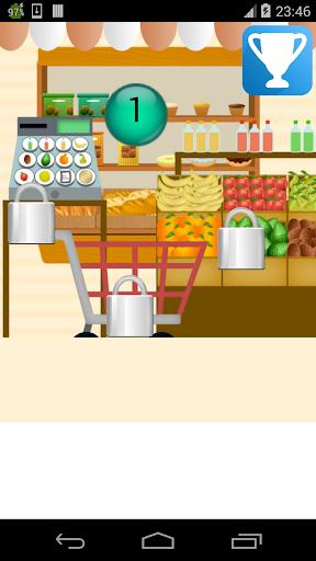超市收银员游戏