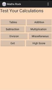 Maths Rock - náhled
