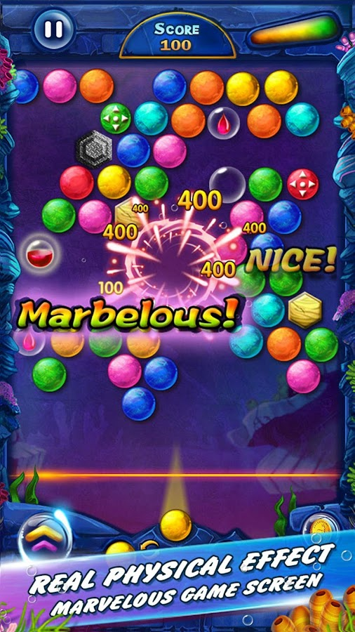 super puzzle bubble game