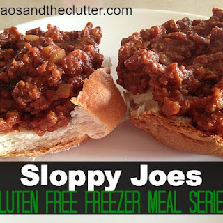 Sloppy Joes (Gluten Free Freezer Meals Series) Recipe