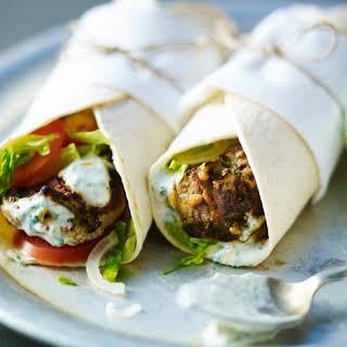 Tandoori Lamb Wrap.