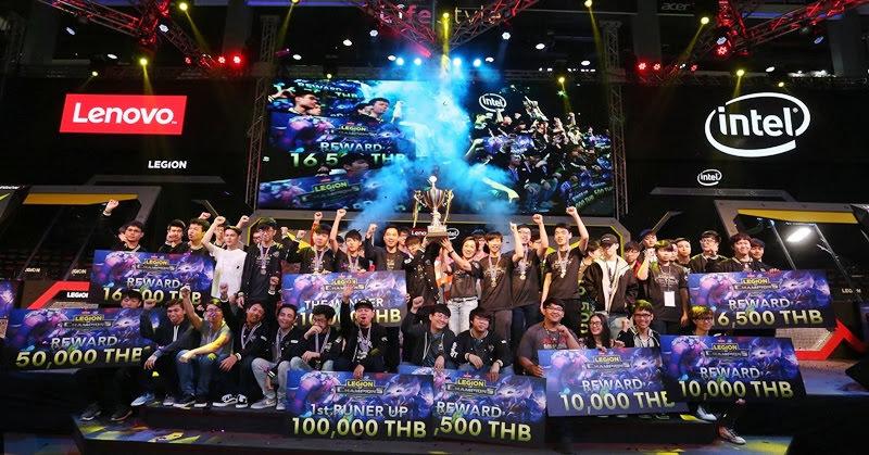 [e-Sports] เลอโนโวประกาศผลผู้ชนะ LEGION OF CHAMPIONS SERIES II ภูมิภาคเอเชีย