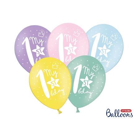 Ballonger My 1st birthday
