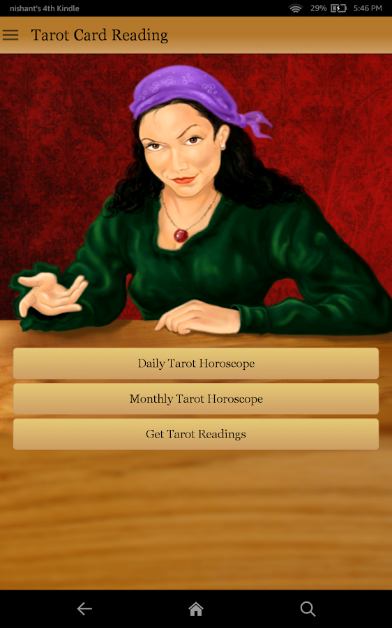 Tarot Card Reading- screenshot