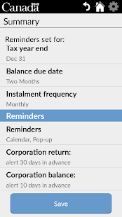 Business Tax Reminder- screenshot thumbnail