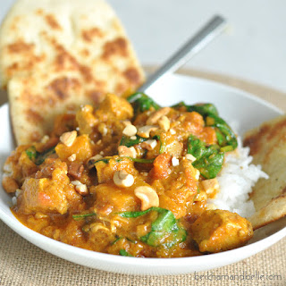 Chicken and Butternut Squash Coconut Curry.