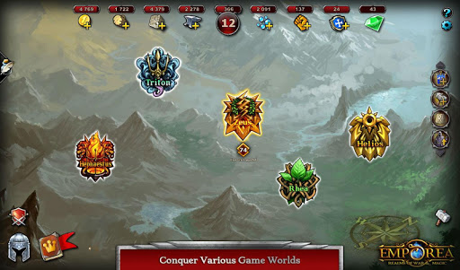 Télécharger Emporea: Real-time Multiplayer War Strategy Game APK MOD (Astuce) screenshots 5