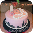 Cute Birthday Cake icon