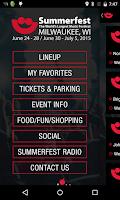 Screenshot of Summerfest 2015
