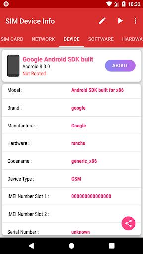 SIM Device Info 1.0.9 screenshots 3