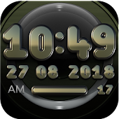 VENTURE Digital Clock Widget