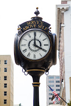 Photo: Clock near Renaissance Hotel.