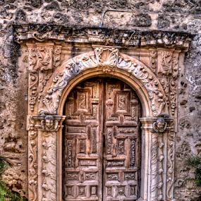 Doorway by Darin Williams - Buildings & Architecture Architectural Detail ( doorway, arch, san jose, mission, door,  )