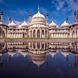 Georgian Reflections by Andrew Ball - Buildings & Architecture Public & Historical ( palace, reflection, uk, pavillion, brighton, royalty )