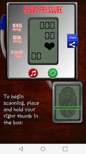 Free Download Blood Pressure Scanner Prank APK