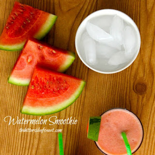 Watermelon Smoothie Milk Recipes.