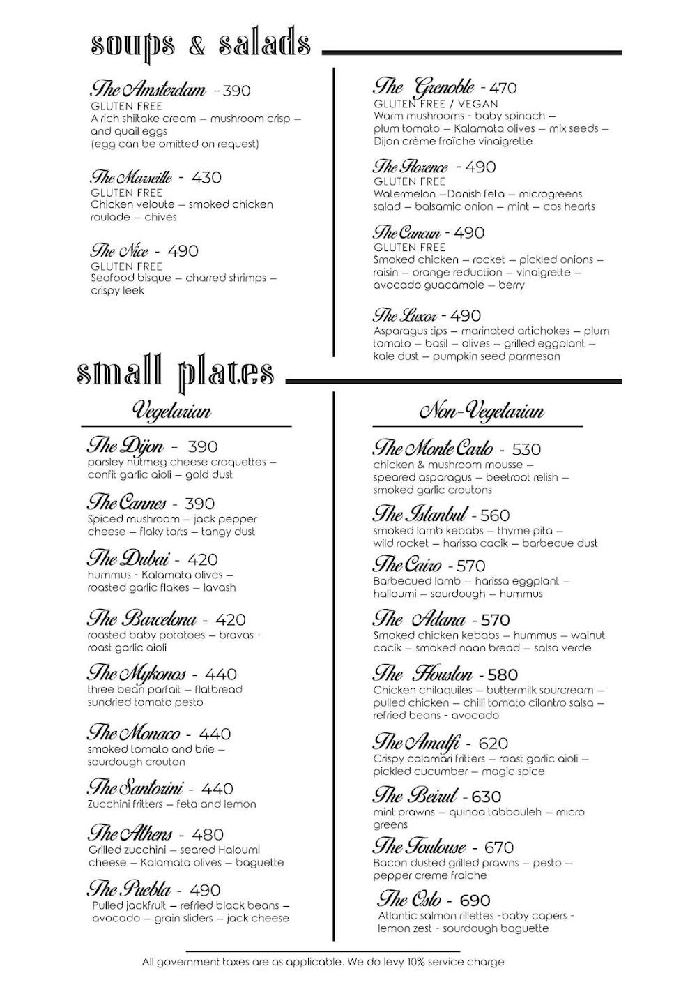 Rocky Star Cafe & Bar menu 3