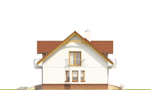 Dom Dla Ciebie 1 w3 bez garażu B - Elewacja lewa