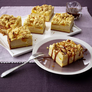 Orange Caramel Cheesecake Crumble