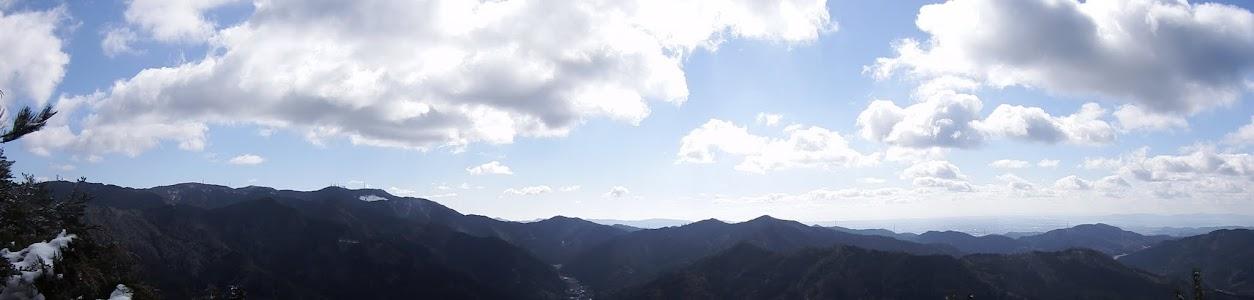 風頭山からパノラマ