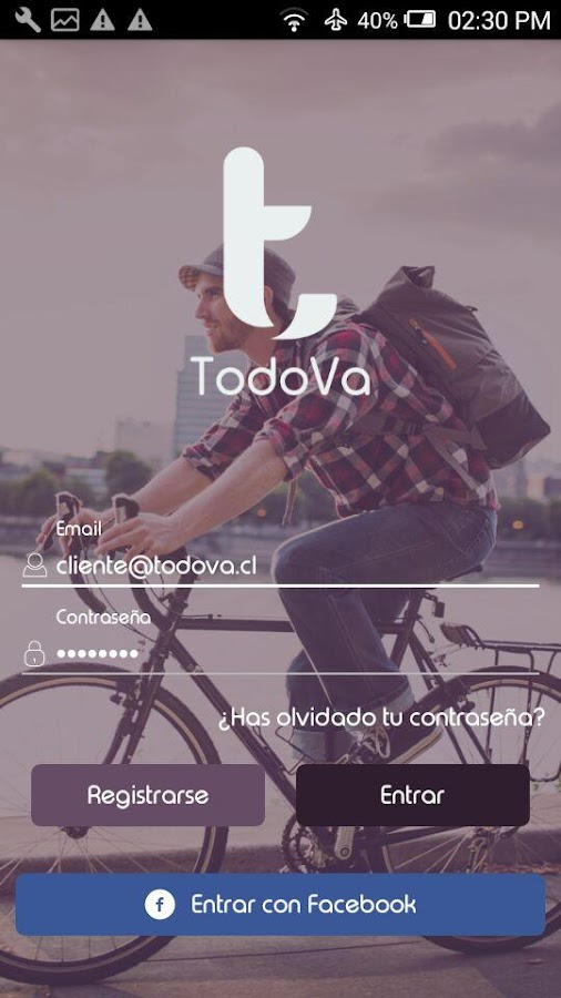 TodoVa Driver- screenshot