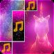 Sparkle Piano Unicorn Tiles Pony Glitter Horn Glow