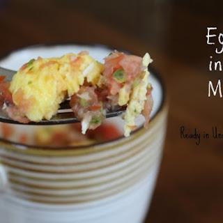 Eggs in a Mug Recipe - Breakfast Ready in Under 2 Minutes