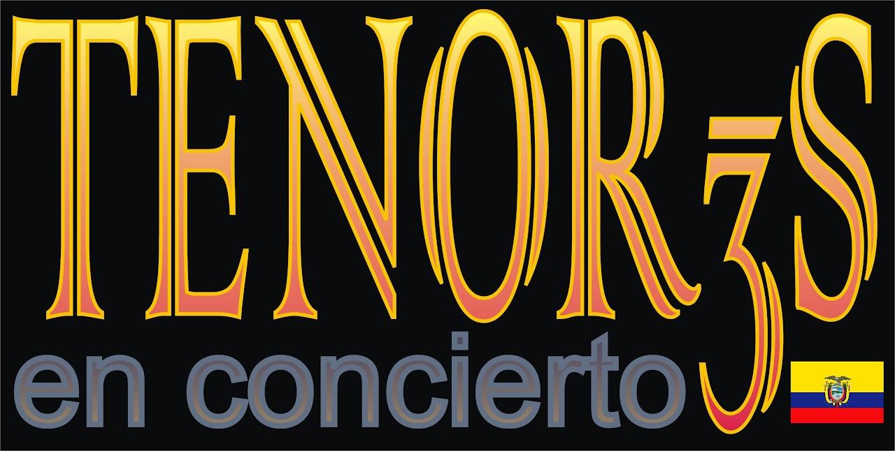 Los tres tenores de Ecuador