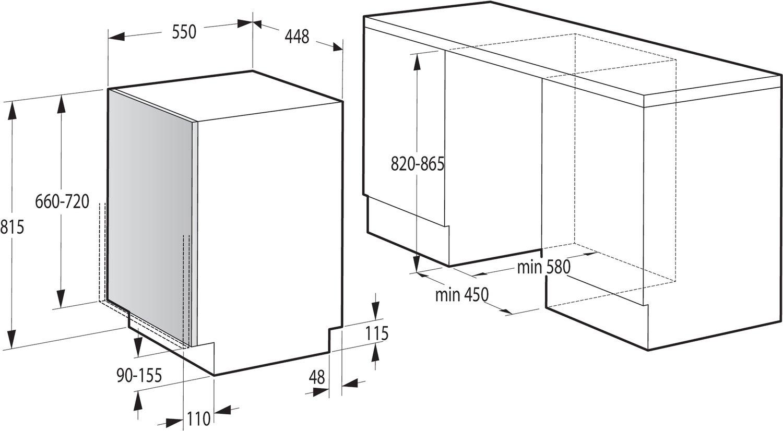Функционал Gorenje GV52012