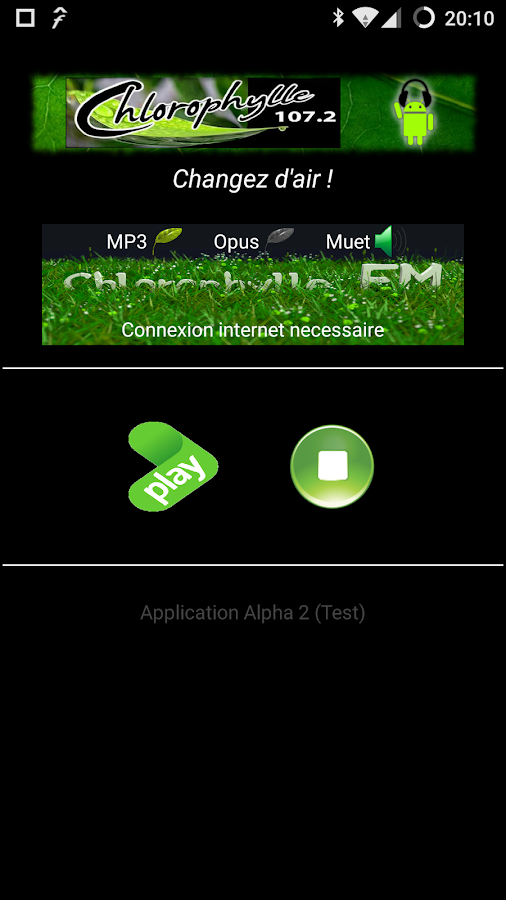 Chlorophylle FM - Radio- screenshot