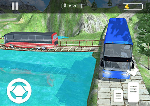 Real Offroad Bus Simulator 2020 Tourist Hill Bus 3.5 screenshots 4