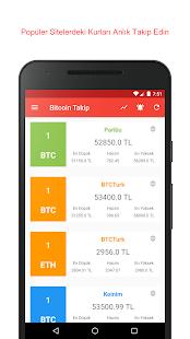 Bitcoin Takip - Bitcoin Türk Borsaları - náhled