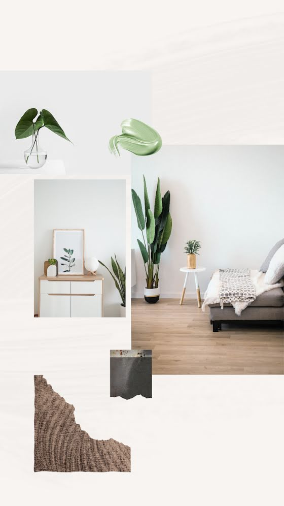 Interior Plants - Facebook Story Template